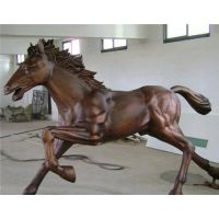 湖南仿古铜马雕塑,世隆雕塑,仿古铜马雕塑制作