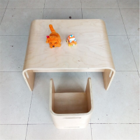 弯曲木加工,简约儿童学习家具配件定制,各种异形板,沃尔美供应