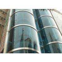 鑫海幕墙15年经验供应肇庆更换观光电梯异形玻璃幕墙工程