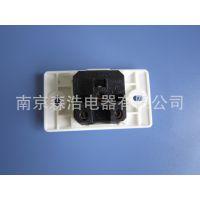 现货供应 厂家直销 一位简易流水线万用插座 senpro  PC阻燃