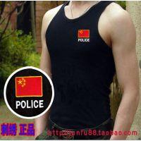 新款剌绣特种兵POLICE背心军迷训练服体能服战术背心迷彩服男