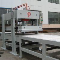 国森机械专业生产各种门板贴皮热压机设备