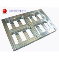 供应齐昌免检金属卡板 木卡板 铁卡板 中空板 周转箱 托盘等包装制品QC01