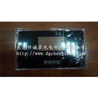东莞诚卓光电厂家定制农业科技用贴3M胶钢化丝印玻璃面板高透光视窗片