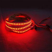 华佳 led灯带 WS2812B 5050rgb 144灯黑板 滴胶防水内置IC遥控灯条