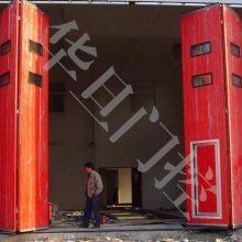 河北电动折叠门厂家|石家庄工业折叠门超长质保