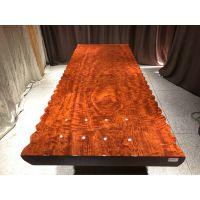 万家名木:实木大板桌,可做餐桌,泡茶桌,办公桌,大班桌