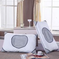 淘宝代理 批发 爱心网布药包枕芯 透气枕 单人枕头保健枕 护颈枕