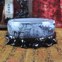 烟灰缸之王 新品上市 水晶3D浮雕 新奇特创意礼品非陶瓷类工艺品