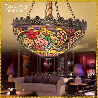 欧式工程别墅会所装饰吊灯复古饭厅酒店灯 咖啡厅店铺吊灯具灯饰