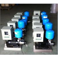 小型供水设备采用调节水泵转速供水,可以做到无节流损耗