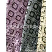 高档绒布窗帘布,割绒色织格条,沙发抱枕靠垫装饰布