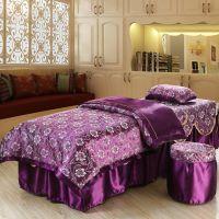 【批发】美容床罩四件套 美体按摩床罩 美容院床上用品 直销