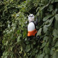 直销搪胶惨叫功夫熊猫玩具公仔 创意摆件 会叫的功夫熊猫散货9.9