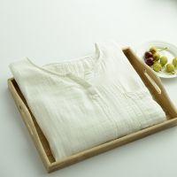 2015春季新款女装文艺日系棉麻纯色V领口袋长款插肩袖连衣裙