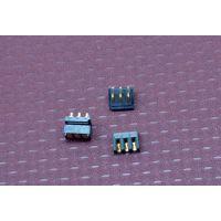 GOPRO4代超薄塑高1.55mm 刀片式3PIN电池座连接器