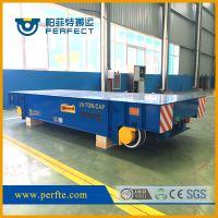 机械设备蓄电池轨道平车选型,帕菲特搬运电动工具车