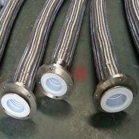 批量供应聚四氟乙烯金属软管 内衬四氟304不锈钢管批量供应