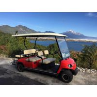 供应 高尔夫球车 江西幸福绿通新能源电动车六座电动高尔夫球车电瓶车看房车