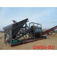 山东青州东威DW-SS型多传送筛沙机砂石分离机旱地筛沙船适用于多种工况现场厂家定制专业性强