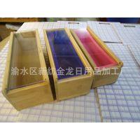 第三代改良版竹盒-1.2亚克力透视盖竹盒+模