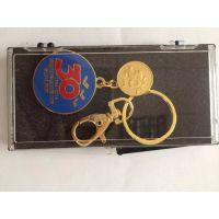 海口专业金属钥匙扣订做三亚旅游广告纪念钥匙扣定制厂家