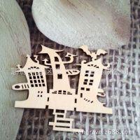 木雕小饰品 木质镂空各种节日挂件 厂家接受定制