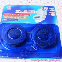 洁厕灵 马桶清洁剂蓝泡泡 卫生间除臭剂两个装批发