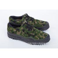 厂家批发3538男士军训作训迷彩解放鞋徒步越野户外运动工作军胶鞋