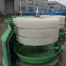 空调、中频炉设备降温圆形玻璃钢逆流式冷却塔价格 40-50吨 河北华强