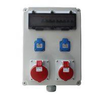 富森FS-PSJC移动式工业插座箱 防水组合插座箱多功能带漏电保护手提检修箱