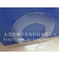 东莞诚卓光电现货供应Ф500*Ф320T6.0MM高精度高透光分选机旋转检测台大钢化光学玻璃环