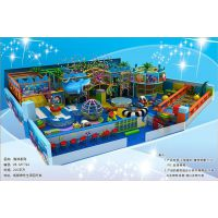 孩乐堡海洋系儿童淘气堡游乐设备生产厂家,儿童主题游园