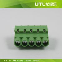 MU4H6.35  PCB印刷电路板端子 欧式接线端子 插拔式接线端子