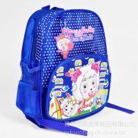 供应青岛小学生双肩书包订做 休闲书包订做加工 尼龙儿童背包厂家
