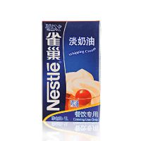 正规雀巢经销商 雀巢淡奶油1L*12 烘焙 餐饮淡奶油 动物性淡奶油