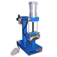 福建阿普莱斯 厂家直销 CP815 气动标签印烫机 金属名片热转印机