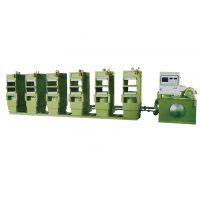 半自动夹板硫化机组 XLB-D450x500x2/1.2MN