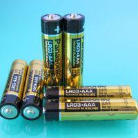 供应 松下Panasonic LR03 AAA 七号 碱性电池 环保电池