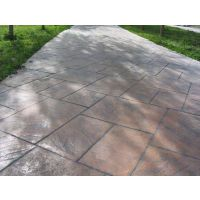 承接合肥园林道路彩色混凝土压模地坪*艺术地坪
