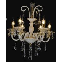 CVMA厂家直销 5027C-6A奢华欧式吊灯客厅卧室水晶蜡烛吊灯餐厅灯简欧水晶吊灯饰灯具