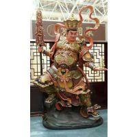 原著雕塑厂家直销大型西游记人物雕像 托塔李天王 玻璃钢人物雕塑