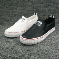 5元起特价鞋子批发温州库存帆布鞋PU皮面休闲运动板鞋清仓处理