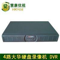 正品大华4路硬盘录像机 特价网络录像机 远程监控刻录机 4路DVR
