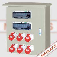 德国曼奈柯斯 上曼电气 不锈钢插座箱 MX-XZBS-4001 电源检修箱 尺寸可订制 精品配电箱