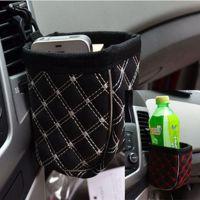 汽车车用出风口手机袋 高品质韩国红酒风口杂物袋 置物箱 垃圾桶