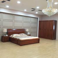美希恩实木床1.8米双人床中式简约现代实木床成套家具