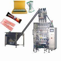 广州旭光牌多排圆角袋咖啡粉包装机械DXD-KF-6每分钟240包