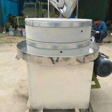 供应豆浆石磨机 麻汁磨机厂家 文轩新款芝麻酱石磨机