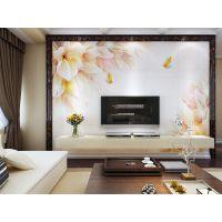 朱居家 瓷砖背景墙 客厅电视机背景墙瓷砖 现代简约仿古砖 蝶恋花